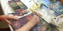oil pastels workshop